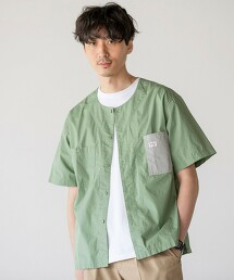 SMITH'S 特別訂製無領短袖襯衫#