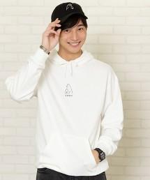 【也很推薦女生穿】coen小熊印花 衛衣材質連帽衫(2020SS)#