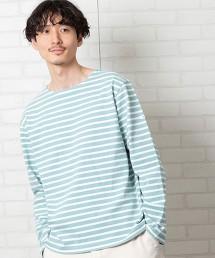 橫條紋船領T恤