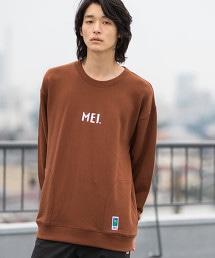 【GO OUT10月號刊載】MEI 聯名圓領衛衣