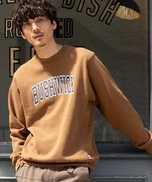 USA美國棉混紡大學印刷圓領衛衣