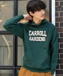 USA美國棉混紡大學印刷連帽衫