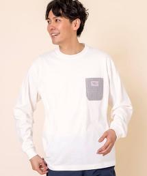 SMITHS特別訂製口袋長袖T恤#