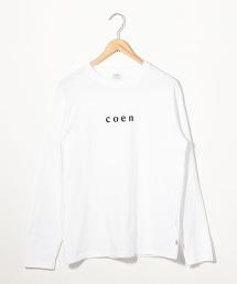 coen小LOGO長袖T恤