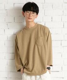 YOKUBARI亞麻・7分袖T恤