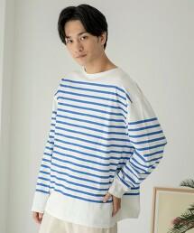 海軍橫條紋 長袖 T恤