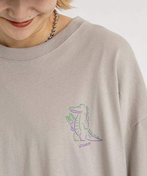 coen × 金安 亮 插畫家 長袖 T恤