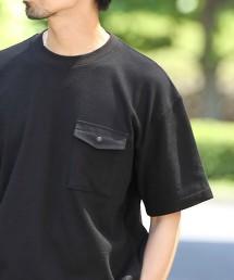 TC鬆餅織口袋T恤