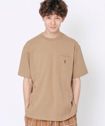 【也很推薦給女生】USA美國棉 小熊刺繡 口袋T恤