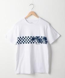 浪板印花T恤