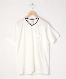 【機能材質】 MOVED COTTON V領T恤
