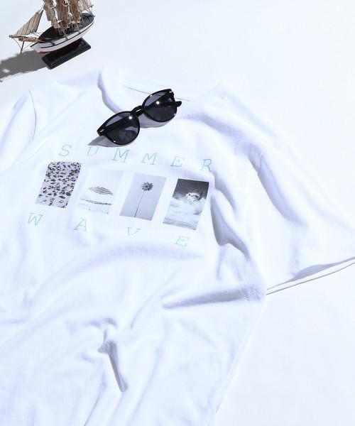 【MENS】SUMMER PHOTO印刷T恤