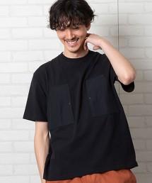 羅緞口袋T恤