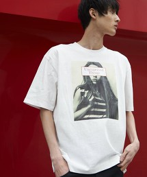 寬版剪裁印刷T恤2(UTILITY LINE)