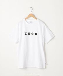 【MENS】coen LOGO TEE
