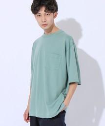 羅馬布寬版口袋T恤
