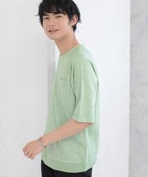 三角棉節5分袖T恤