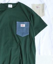 【也很推薦女性穿著】SMITH 特別訂製 燈芯絨 口袋T恤