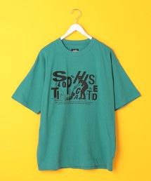 寬版 印花 T恤 UTILITY LINE