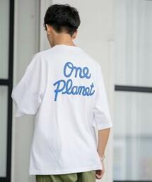 LOGO 後印刷 短袖 T恤