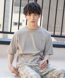 YOKUBARI亞麻5分袖T恤