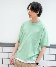 羅馬布 輕鬆版型5分袖T恤