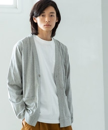 USA美國棉 T恤材質 單鈕釦 對襟外套