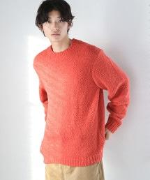 柔和觸感細毛線圓領針織毛衣