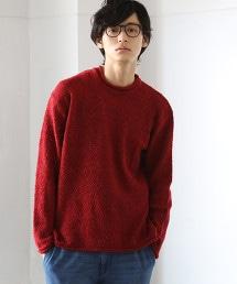 毛圈布滾邊針織衫