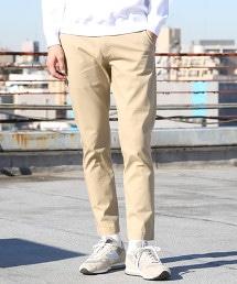 撥水&防汙彈性合身CHINO錐形褲