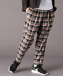 TR彈性格紋雙摺飛鼠褲20SS(UTILITY LINE)#