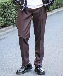 聚酯斜紋織 錐形褲   OUTLET商品