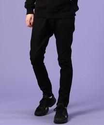 COOLMAX(R)四季可穿 機能布料彈性BLACK黑色窄管褲(UTILITY LINE)