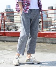 棉麻縲縈8分輕便褲