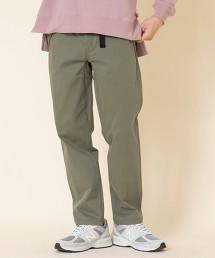 彈性 柔軟 錐形斜紋織卡其褲