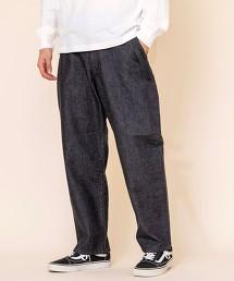 寬版牛仔褲※因吊牌產地表示有誤,此商品實際的產地為中國製造 OUTLET商品
