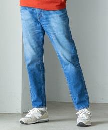 新款直筒丹寧褲