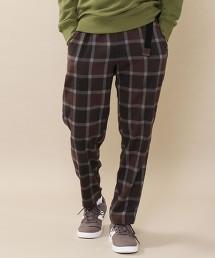 TR彈性格紋錐形輕便褲