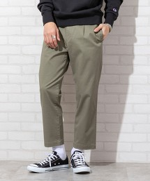 打摺9分CHINO褲#