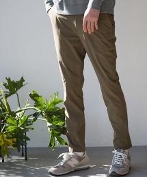 尼龍PU錐形西裝褲