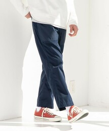 聚酯纖維 斜紋織 麵包工人褲