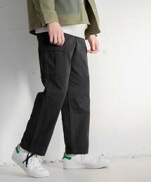 人字紋 工裝褲