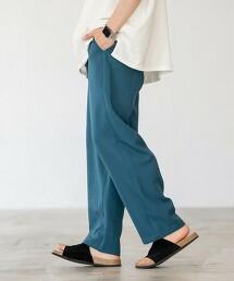 聚酯纖維 輕便寬褲