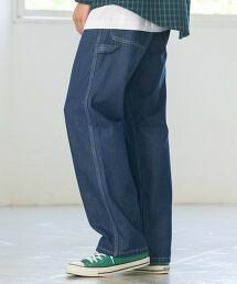 畫家丹寧褲 (藏青色)