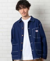 SMITH'S 特別訂製 帆布 工作夾克