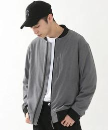 彈性 羅紋 MA-1夾克