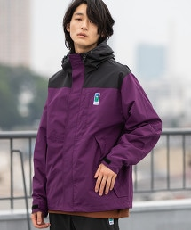 【GO OUT10月號刊載】MEI 聯名色塊拼接登山連帽外套