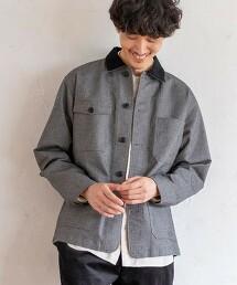 人字呢棉粒外套※因吊牌產地表示有誤,此商品實際的產地為中國製造