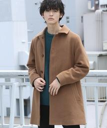 混紡羊毛MOSSER起毛呢巴爾瑪肯領大衣