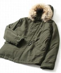 鋪棉短版野戰大衣